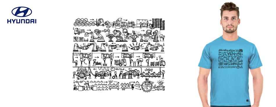 Grafické návrhy firmy Hyundai 2019