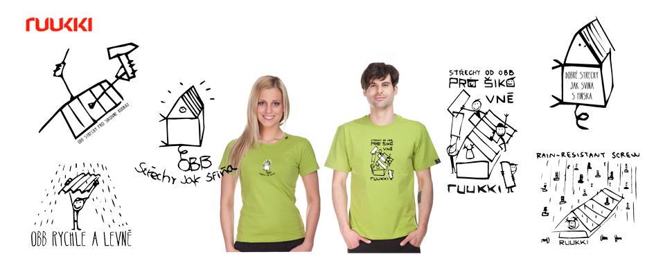 Grafické návrhy firmy RUUKKI