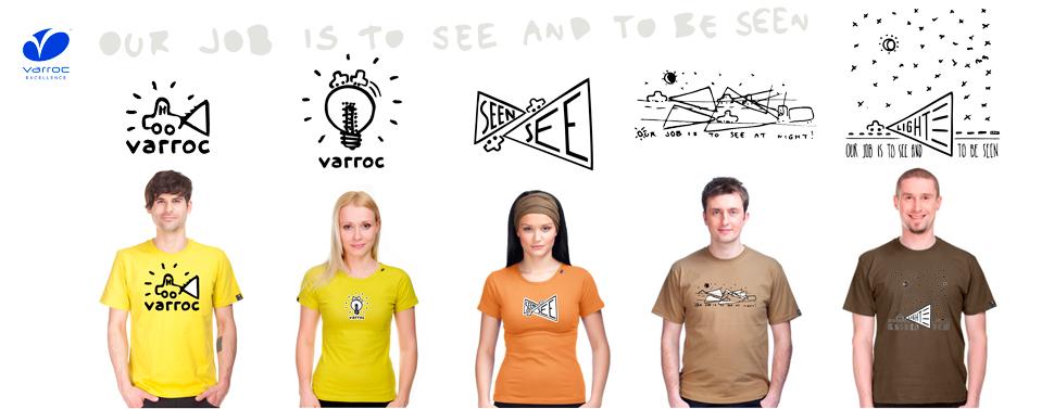 Grafické návrhy firmy VARROC