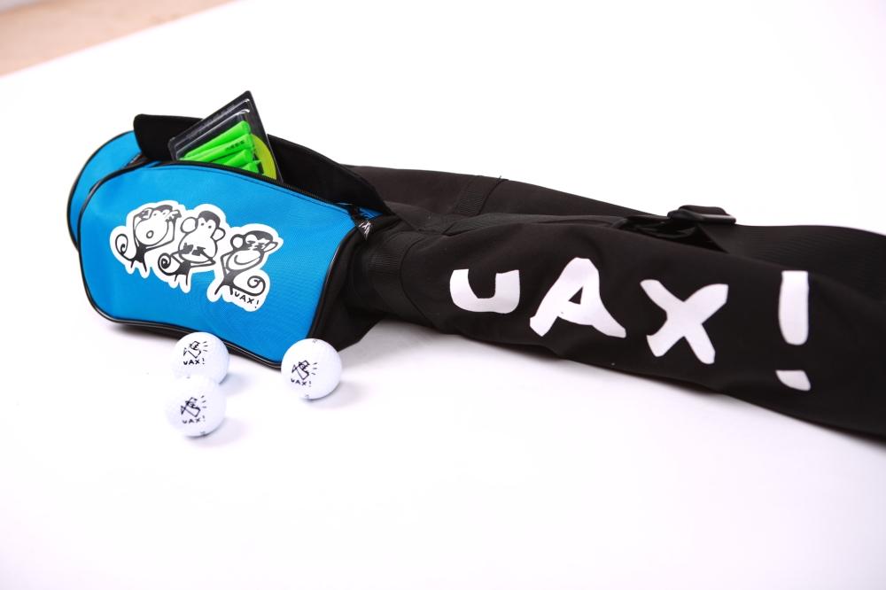 GOLF CARRY BAG - Ahoj! Teď jsme jeden team UAX! a ty v tom jedeš s náma!<br>Sdílej a užívej hashtag #uaxdesign