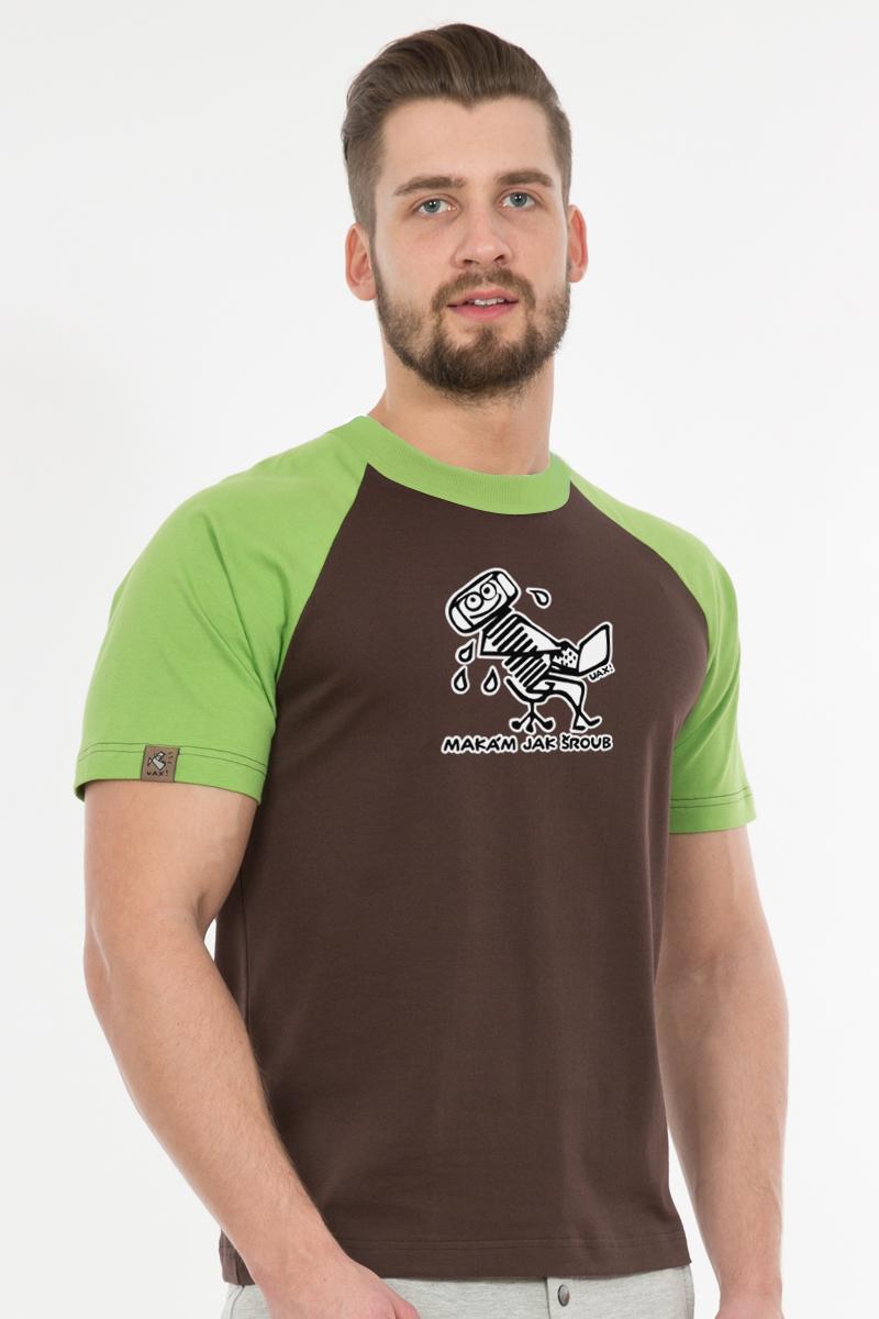 Tričko RAGLÁN COLORS s potiskem 1086 LOGO UAX! v barvě multicolor s ... 96a84e99f4