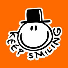 Potisk 517 - KEEP SMILING