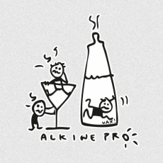 Potisk 518 - ALKINE PRO