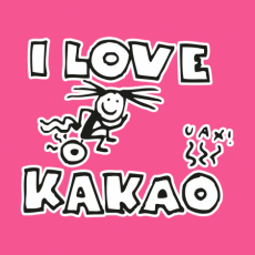 Design 582 - I LOVE KAKAO