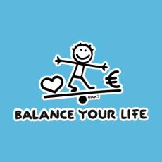 Potisk 1039 - BALANCE YOUR LIFE