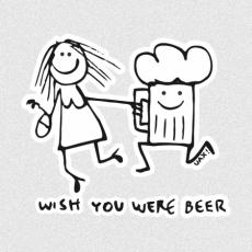 Design 1049 - WISH YOU WERE BEER