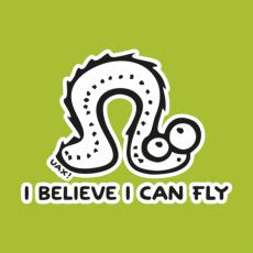 Potisk 1062 - I BELIVE I CAN FLY