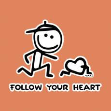 Design 1063 - FOLOW YOUR HEART