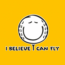 Potisk 1070 - I BELIEVE I CAN FLY