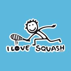 Potisk 1091 - I LOVE SQUASH