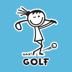 Design 1105 - GOLF GIRL UAX!