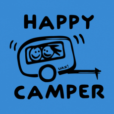 Design 1116 - HAPPY CAMPER