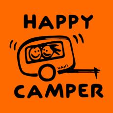 Potisk 1116 - HAPPY CAMPER