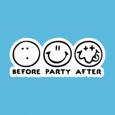 Design 1120 - BEFORE PARTY AFTER