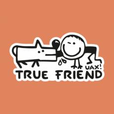 Potisk 1123 - TRUE FRIEND