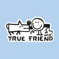 Potisk 1123 - TRUE FRIEND