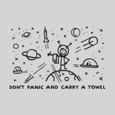 Design 1156 - DON'T PANIC GALAXY