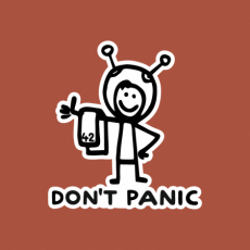 Design 1157 - DON'T PANIC