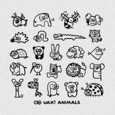 Design 1168 - UAX! ANIMALS