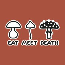 Design 1177 - EAT MEET DEATH