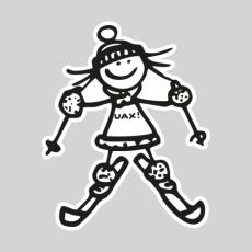 Design 1179 - SKIER GIRL