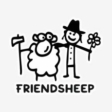 Potisk 1205 - FRIENDSHEEP