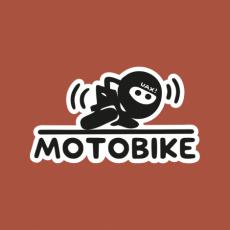 Potisk 1216 - MOTOBIKE