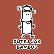 Potisk 1218 - DUTEJ JAK BAMBUS