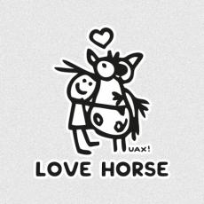 Design 1219 - LOVE HORSE