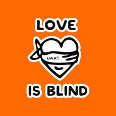 Potisk 1221 - LOVE IS BLIND