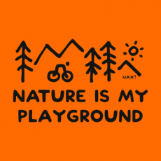 Potisk 1223 - NATURE IS MY PLAYGROUND