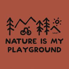 Potisk 1223 - NATURE IS MY PLAYGROUND