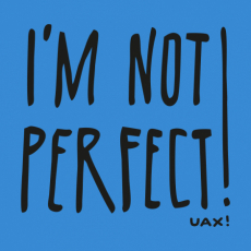 Potisk 1230 - IM NOT PERFECT