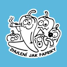 Design 1245 - ZHULENÍ JAK PAPRIKY