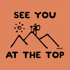 Potisk 1263 - SEE YOU AT THE TOP