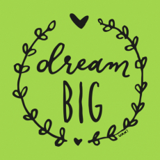 Design 1286 - DREAM BIG