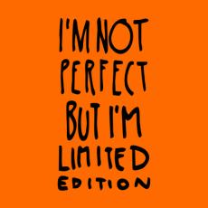 Potisk 1289 - IM NOT PERFECT