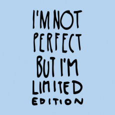 Design 1289 - IM NOT PERFECT