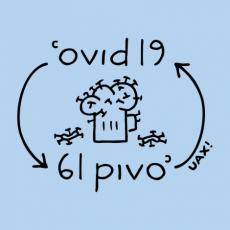 Potisk 1297 - COVID 6L PIVO