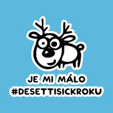 Design 1320 - JE MI MÁLO DESETTISICKROKU