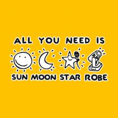 Potisk 5124 - SUN MOON STAR ROBE