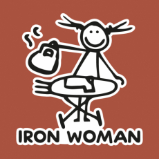 Potisk 5175 - IRON WOMEN
