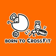 Potisk 5176 - BORN TO CROSSFIT