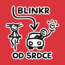 Potisk 5196 - BLINKR OD SRDCE