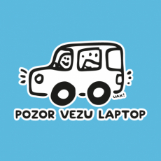 Potisk 5218 - POZOR VEZU LAPTOP