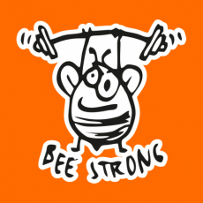 Potisk 5246 - BEE STRONG 2