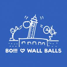 Potisk 5198 - BO!!! LOVE WALL BALLS