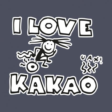 Potisk 582 - I LOVE KAKAO