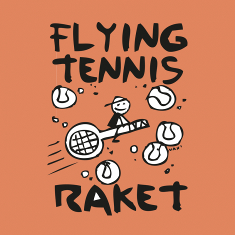 Design 599 - FLYING TENNIS RAKET
