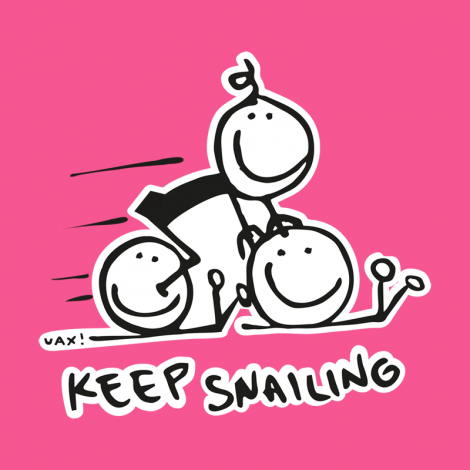 Design 1017 - KEEP SNAILING